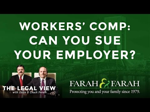 Florida Workers' Compensation: Can You Sue Your Employer?