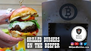 Searing a Burger on the Beefer
