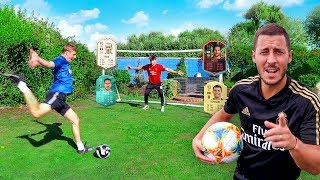 FOOTBALL CHALLENGES vs EDEN HAZARD