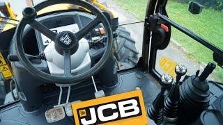 Управление экскаватором JCB 3CX. ( Control of the excavator JCB 3CX.)