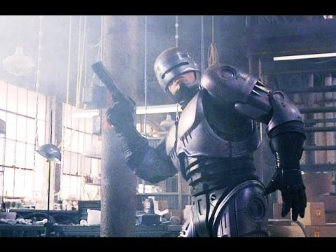 Robocop 1987 Drug Factory Raid High Quality