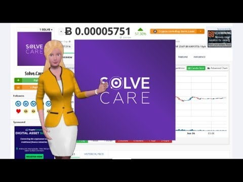 Cryptocurrency Solve.Care $SOLVE Appreciated 57% In the Past 24 Hours 8