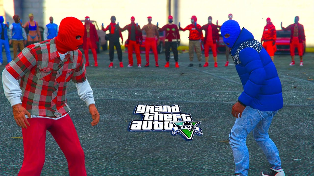 Gta 5 Online Bloods Vs Crips Who Will Win Youtube