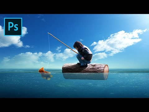 Photoshop Manipulation Tutorial - Fishing With Dolls