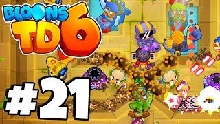 99.9% WILL HATE THIS 2 LANE MAP! - Bloons TD 6 Part 21 (BTD 6 IOS/Android)