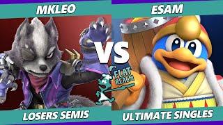 Random Flatrealm Losers Semis - T1 | MkLeo Vs. PG | ESAM - Smash Ultimate SSBU