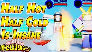 Half Hot Half Cold Is Insane | Boku No Roblox Remastered