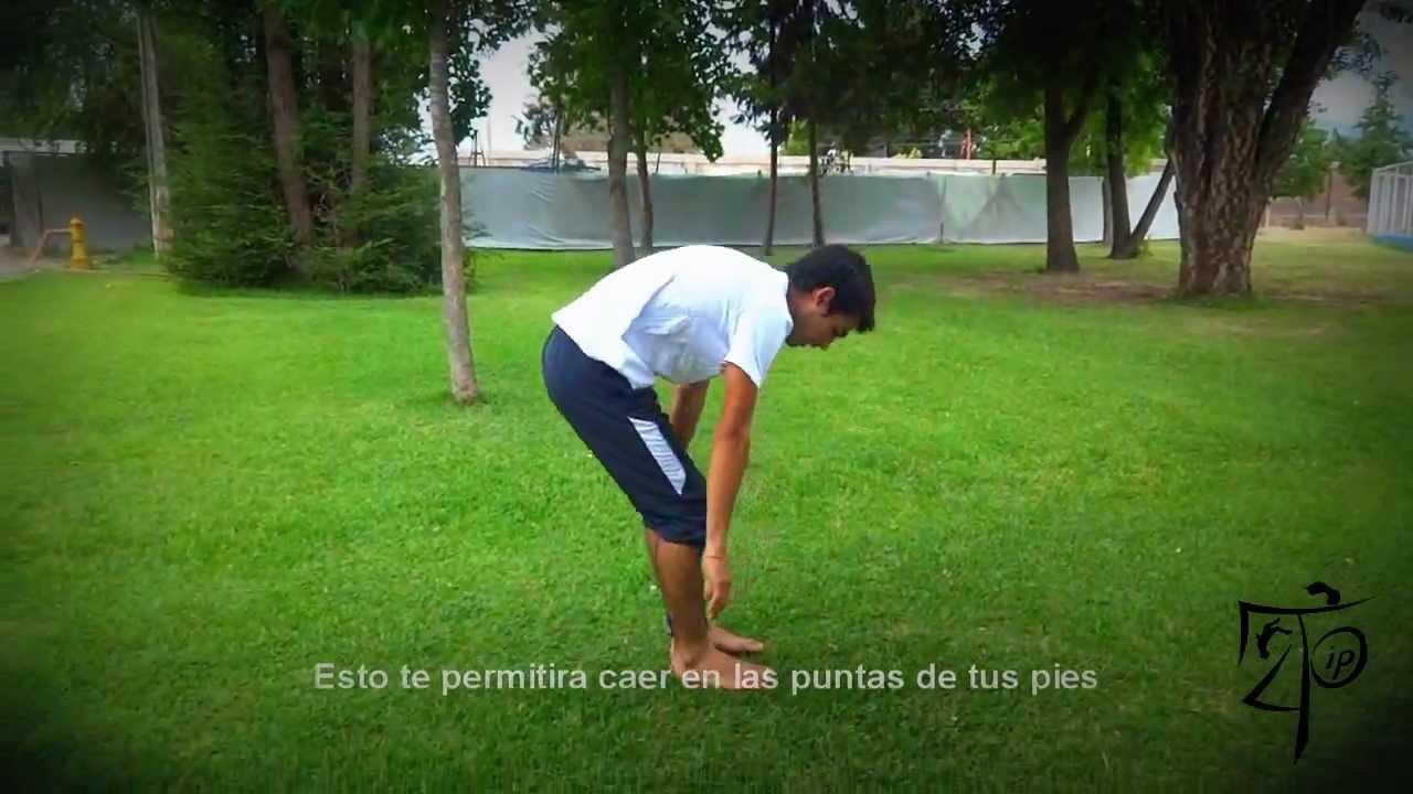 Front Flip Tutorial En Español - HD (bien explicado, paso a paso)
