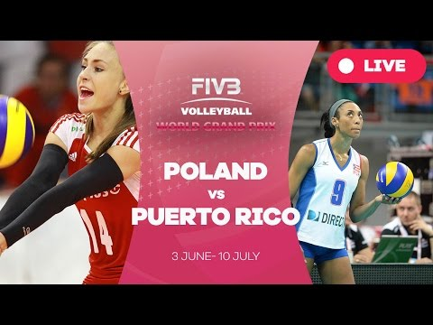 Poland v Puerto Rico - Group 2: 2016 FIVB Volleyball World Grand Prix