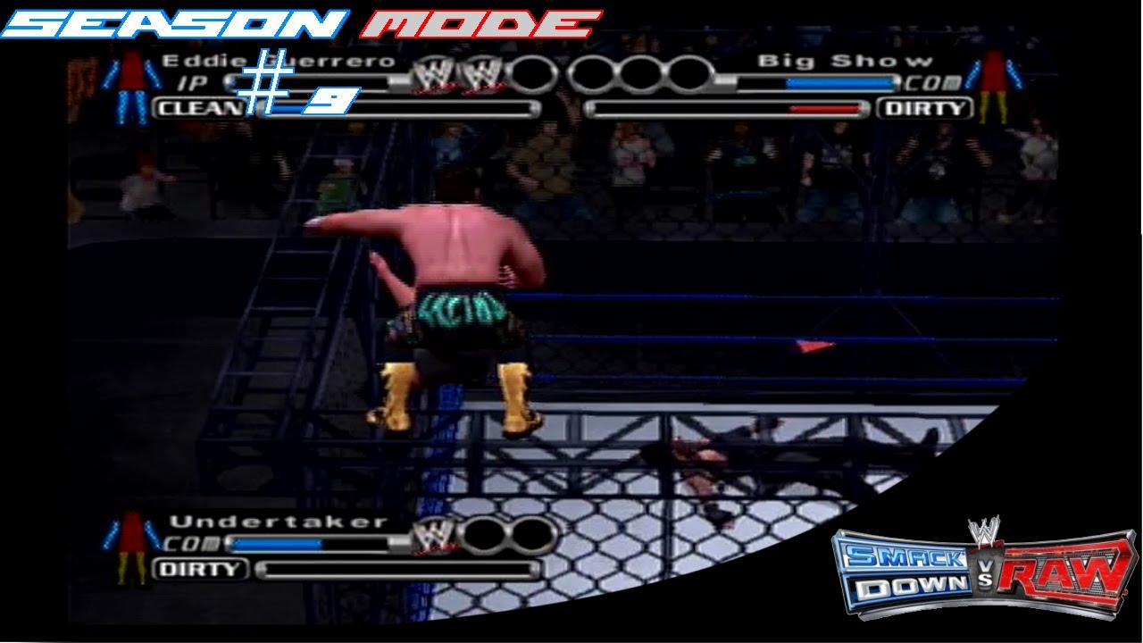 Download Triple Threat Steel Cage?!?!   WWE Smackdown! vs Raw Season Mode Ep. 9