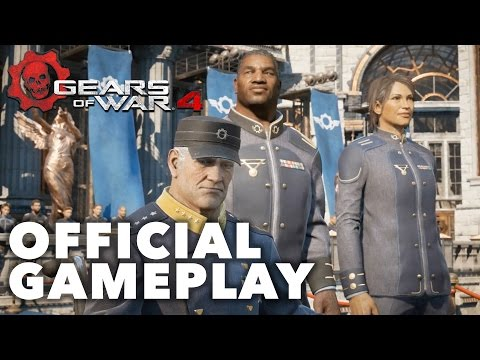 First 20 Minutes of Gears of War 4 - Official Prologue Playthrough