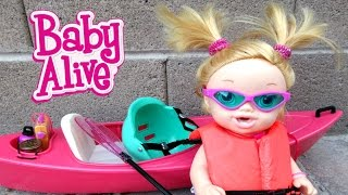 BABY ALIVE Annie Almost Gets HYPOTHERMIA!!