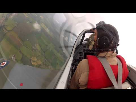 """PlanesTV Mustang """"The Shark"""" GoPro Cosford 2015. Flown by Lars Ness"""