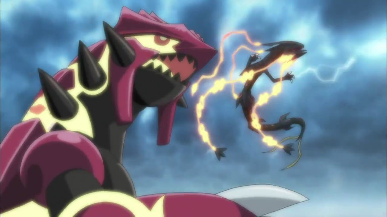 Primal Kyogre pokÉmon 18th movie 2015 - shiny mega rayquaza, primal groudon