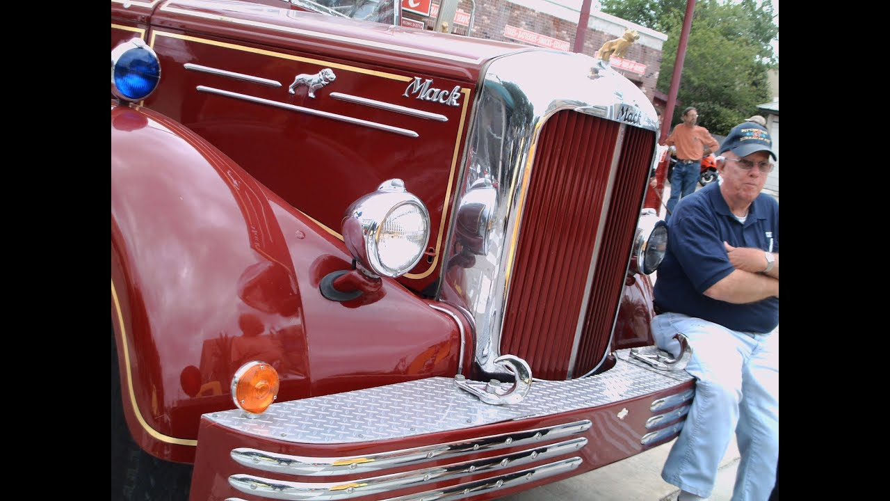 Diesel Truck For Sale >> 1951 Mack Fire Pumper Truck Red NSmyrn041412 - YouTube