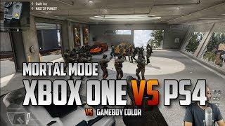 XBox One vs PS4 Vs Gameboy Color - Three Team Mortal Mode
