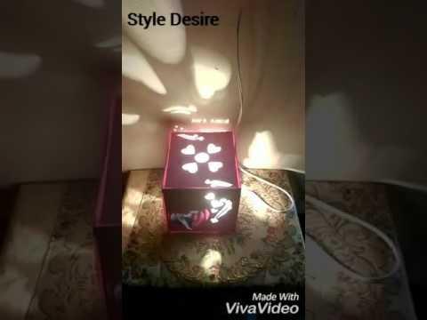 Diy paper lantern /lampshade