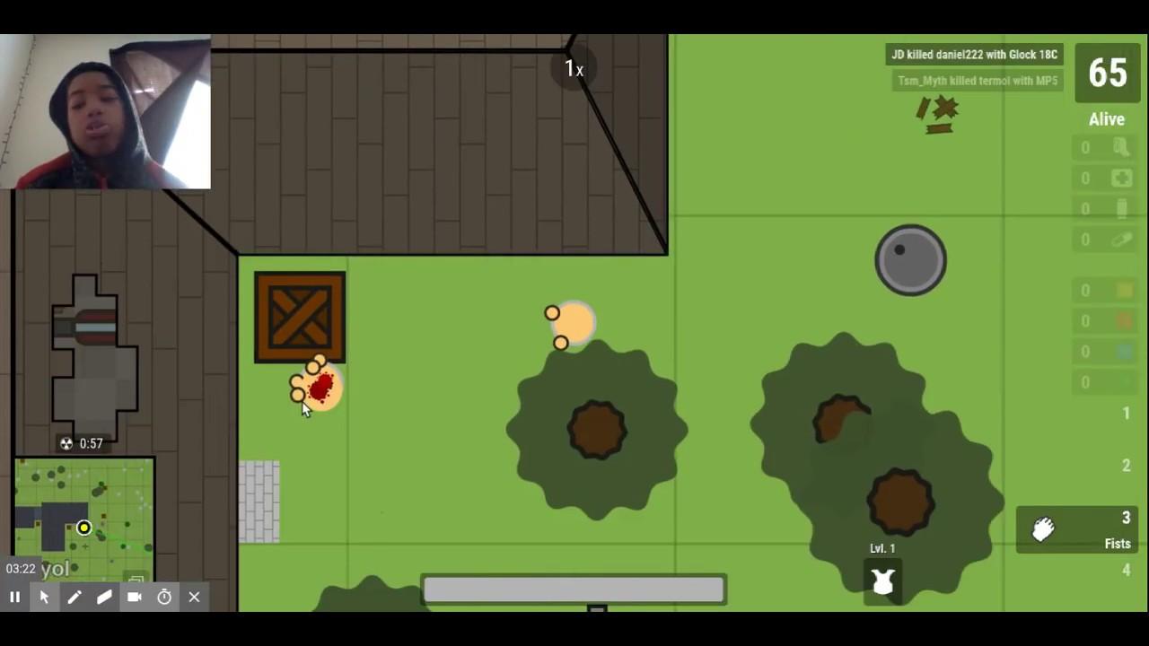 Juegos de surviv io 2d battle royale