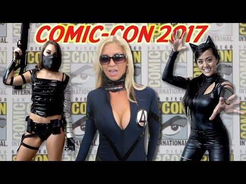 How to Talk to Cosplay Girls at Comic-Con 2017