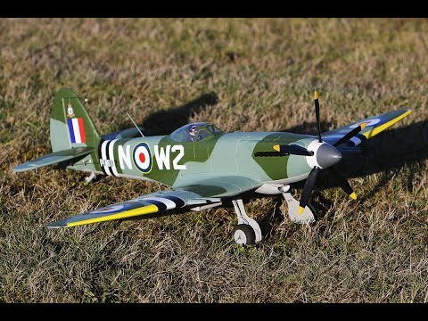 Hobbyking Durafly™ Supermarine Spitfire Mk24 V2 1100mm Flying 2!