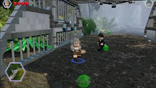 Lego Jurassic World. Fighting the Compys. Shady Grove, Jurassic World.
