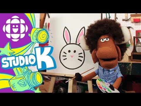 Mr Orlando's Joy of Art: Bunny | CBC Kids