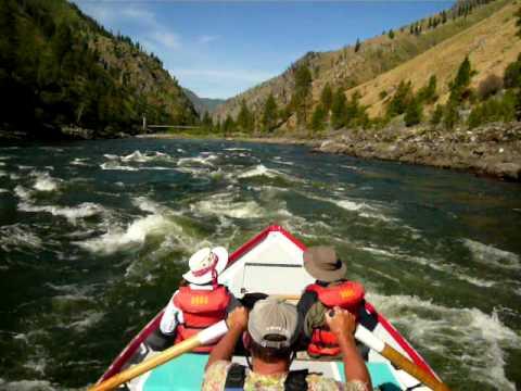 Whitewater Rafting on Idaho's Main Salmon River wi...
