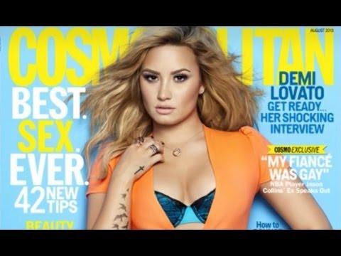 Demi Lovato Talks Suicide and Partying in Cosmopolitan 2013!