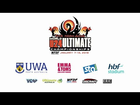 WFDF World Under 24 Ultimate Championship: Men's Final - Italy v. USA