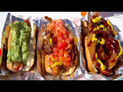 Street Food in Hollywood - 4 iconic Fast Food dishes in America
