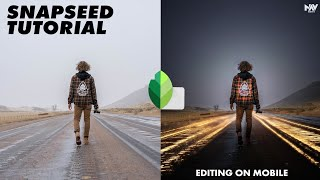 FUN LIGHT EFFECTS in SNAPSEED | SNAPSEED TUTORIAL | Android | iPhone