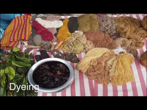 Craft Documentation on Eri silk weaving and Khneng embroidery