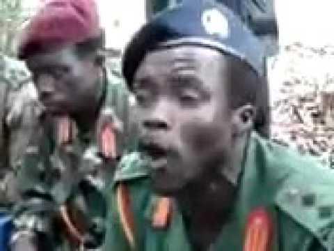 LRA Ugandan REBEL LEADER JOSEPH KONY