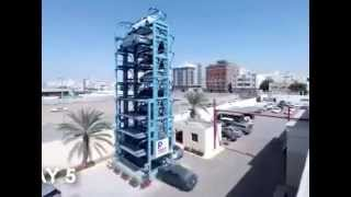Mechanical engineering students projects---Car parking system
