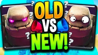 BEST OLD deck or NEW WACK deck?! Which Golem WINS in Clash Royale?
