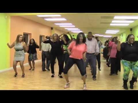 Big Thang 4 Big Girls Line Dance Youtube