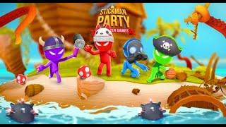 Game Rusuh - Stickman Party: 1 2 3 4 Permainan Pemain Gratis ( Game Offline For Android ) screenshot 4