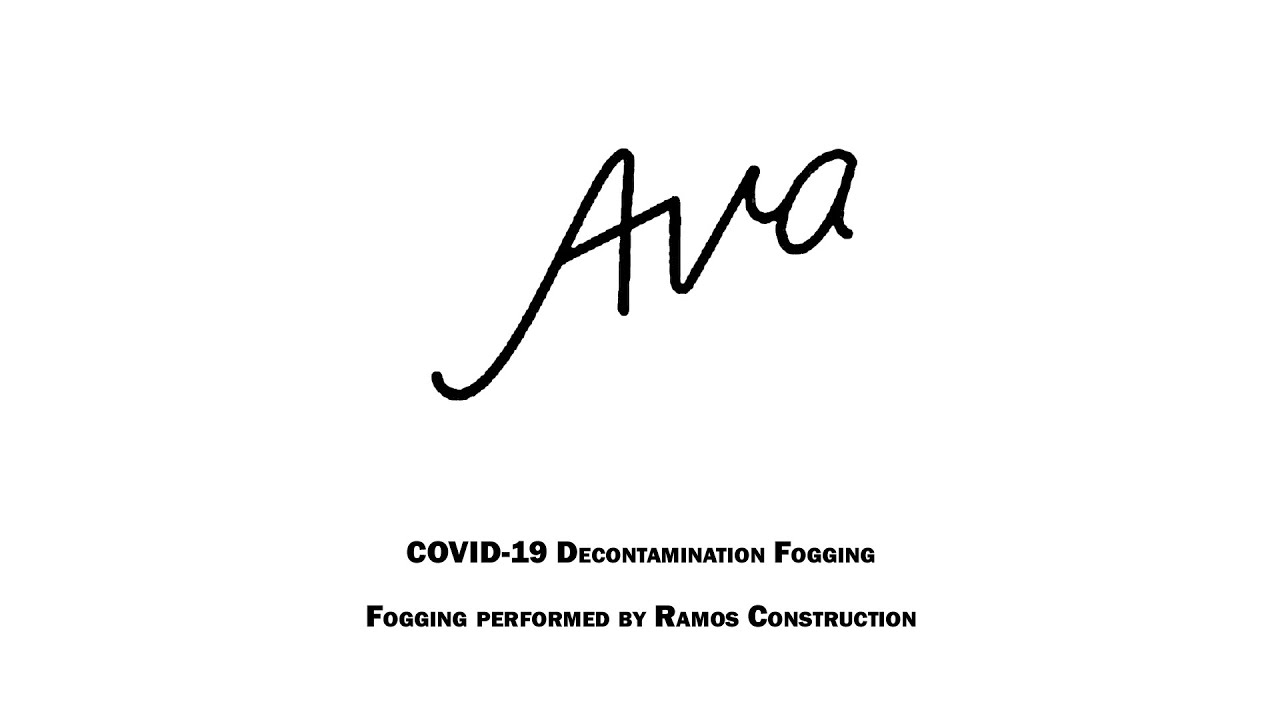 Disinfected: Ava