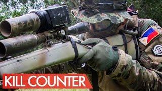 23 kills 1 death airsoft sniper kill counter jg bar 10 novritsch in the phillipines