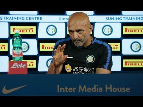 Live! Conferenza stampa di Spalletti prima di Roma-Inter 25.08.2017 13:00CEST