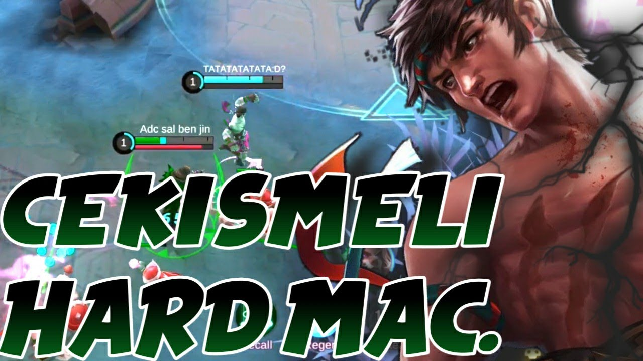 BOL CEKISMELI HARD MAC | YAZIK KAFANA #3 | CHOU Mobile Legends Bang Bang