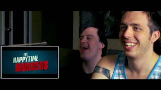 """""""The Happytime Murders"""" Red Band Trailer Reaction - Another Damn Review Show"""
