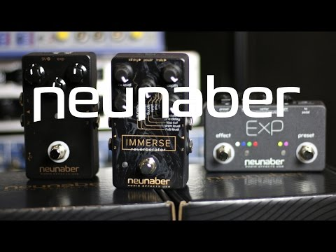 Neunaber Immerse and  Slate v2 + ExP controller demo