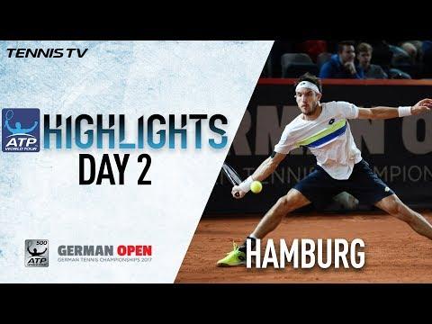 Mayer Ousts Cuevas Hamburg 2017 Tuesday Highlights