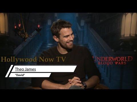 Theo James Talks 'Underworld,  Keeping His Jewels Off Social Media