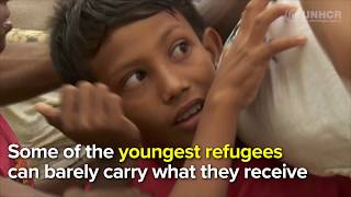 Ordinary Bangladeshis hand-deliver aid to Rohingya Refugees