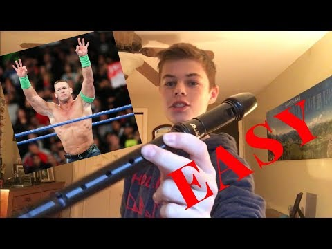 How To Play John Cena On Recorder *EASY*