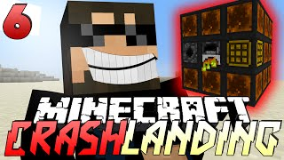 Minecraft Crash Landing 6 - THE HIGH OVEN