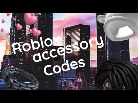Bandage Roblox Face Id Roblox Accessory Codes Youtube
