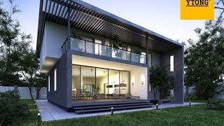 видео Типовые проекты домов из пеноблоков